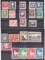 Bulgarie - 1927/48 - Lot De Timbres Pour La Poste Aérienne - Neufs * - Cote + 25 - Poste Aérienne