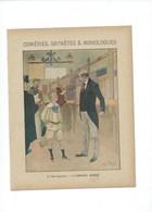 Comédies Saynètes Monologues L'Employé Modèle Protège-cahier Couverture 220 X 175 TB 3 Scans - Book Covers