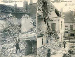 59 - Bergues - Bombardement De Mai Juin 1915 - Rue De La Gare - Bergues