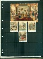CHINA RED MANSIONS 4 VAL+ BF NEUFS A PARTIR DE 0.75 EUROS - 1949 - ... République Populaire