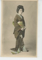FEMMES - FRAU - LADY - ASIE - JAPON - JAPAN - Portrait Femme Japonaise GEISHA (Japanese Woman ) - Femmes