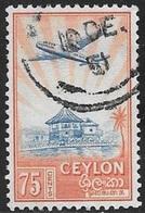 1950 Ratmalana, Plane, 75 Cents, Used - Sri Lanka (Ceylon) (1948-...)