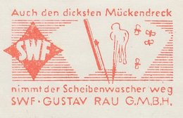 Meter Cut Germany 1960 Mosquito - Windscreen Wiper - Insects