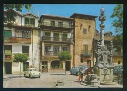 Comillas. *Plaza De La Fuente* Ed. Arribas Nº 2001. Escrita. - Cantabria (Santander)