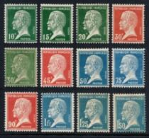 N°170/181, Pasteur 1923, Série Complète, Neuf ** Sans Charnière - TB - France