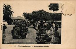 Colonie Du Dahomey - Marché De Porto-Novo - Dahomey