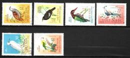 VIET NAM / SERIE DE 6 TIMBRES OISEAUX - Climbing Birds