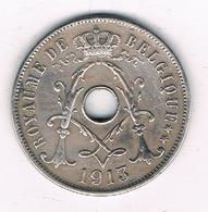 25 CENTIMES 1913 FR  FR BELGIE /8729/ - 1909-1934: Albert I