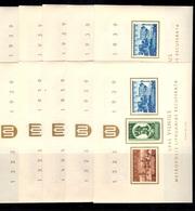 Lituanie Bloc-feuillet YT N° 2 Dix Blocs Neufs ** MNH. TB. A Saisir! - Lithuania