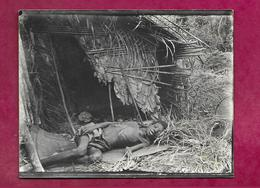 Carte Postale PHOTO 11,5 X 8,5 Cm ...AFRIQUE NOIRE...ENFANT Africain Mourant De Faim - Africa