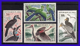 1965 - Mali - Sc. C 25 - C 28 - MNH - MA -185 - 02 - Mali (1959-...)