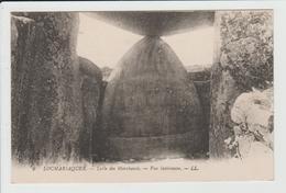 LOCMARIAQUER - MORBIHAN - TABLE DES MARCHANDS - VUE INTERIEURE - Locmariaquer