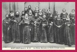 CPA Syrie - Mont Liban - Les Moines Maronites De L'Ordre De Saint-Antoine - Syrie
