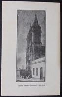 HC - Post 1906 - URUGUAY SAN JOSE - HORTUS CONCLUSUS CHAPEL - Edit. FIGUEROA Hnos - RARE UNUSED POSTCARD - Uruguay