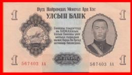 BILLETE DE MONGOLIA DE 1955. PLANCHA. - Mongolia