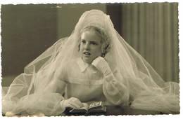 Ledeberg, 1949: V. Geirland: Stempel In Foto, 9 X 14 ( 2 Scans) - Photographs