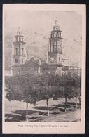 HC - Post 1906 - URUGUAY SAN JOSE - PLAZA 33 E IGLESIA - CHURCH - Edit. FIGUEROA Hnos - RARE UNUSED POSTCARD - Uruguay