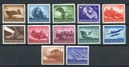 Allemagne III Reich - Germany - Deutschland 1944 Y&T N°791 à 802 - Michel N°873 à 884 *** - Série Journée Des Héros - Allemagne