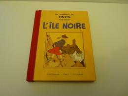 L'ïle Noire / Les Aventures De Tintin Reporter En Noir & Blanc (petit Format) - Tintin