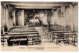 CPA 92 - SCEAUX (Hauts De Seine). Institution Maintenon. La Chapelle - Sceaux