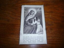 1-BC1-1-100 Souvenir Décès Valerie Merchie Lepage Hundelgem 1899 1944 - Décès