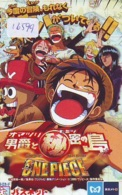 Carte Prépayée Japon * MANGA * ONE PIECE * ANIMATE * ANIME (16.599) Movie Japan Prepaid Card * KARTE - Comics