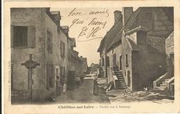 Cp Précurseur -CHATILLON SUR LOIRE - Vieille Rue à Nancray  181 - Chatillon Sur Loire