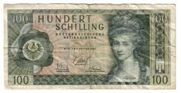 Austria 100 Shilling 1969 - Autriche