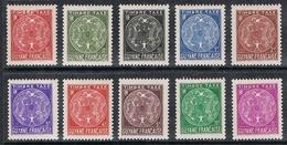 GUYANE TAXE N°22 A 31 N** - Guyane Française (1886-1949)