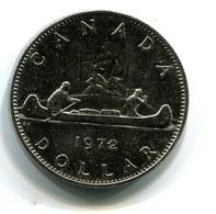 1972 Canada One Dollar Coin - Canada
