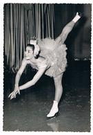 Photo Dédicacée D'une Patineuse Sur Glace - Patinage Artistique - Ingrid Wendl 20/10/1959 - Sport