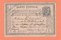 CARTE POSTALE DE NANTES POUR LEGE REEXPEDIEE POUR DURTAL . EN TÊTE H. ROUCHE QUAI FOSSE 53 NANTES - Marcophilie (Lettres)