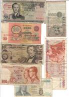 Europe Lot 7 Banknotes - Banconote