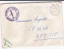 PIE-VPT-18-034 : ENVELOPPE. CACHET POSTE AUX ARMEES. 22 SEPTEMBRE 1952. INTENDANCE D'ETAPES 414. SP 59.012- BPM415 - French Zone