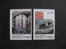 Andorre Espagnol : TB Paire N° 281 Et N° 282, Neufs XX. - Andorre Espagnol