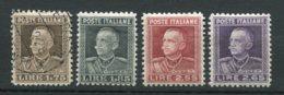 10253  ITALIE  N° 200/3*/°  Victor-Emmanuel III  1927  TB - 1900-44 Victor Emmanuel III