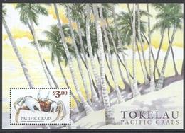 Tokelau Islands 1999, Crabs Sheet, MNH - Tokelau