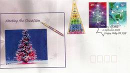 Noël Australien, Année 2005, FDC D'Happy Valley - Christmas