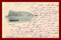 Gibraltar Fron De Bay   ( Scan Recto Et Verso ) - Gibraltar
