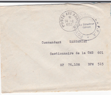 PIE-VPT-18-035 : ENVELOPPE. CACHET POSTE AUX ARMEES. 14 JUIN 1952. FOYER CENTRAL DES F. F .A. - French Zone