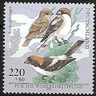 Germany 1998 - MNH - Woodchat Shrike (Lanius Senator - Vögel