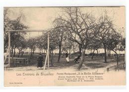 """Les Environs De Bruxelles  Ferme Restaurant """"A La Belle Alliance"""" 1907 - België"""