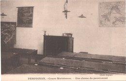 FR66 PERPIGNAN - Cliché Argence - Cour Maintenon - Une Classe Du Pensionnat - Belle - Perpignan