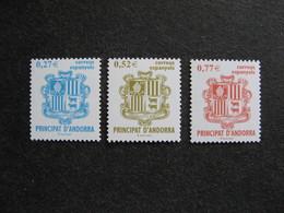 Andorre Espagnol :TB Série N° 297 Au N° 299, Neufs XX. - Andorre Espagnol