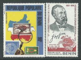Bénin  N° 535 / 36   XX   Les 2 Valeurs Sans Charnière, TB - Bénin – Dahomey (1960-...)