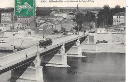 ALFORTVILLE - ( 94 ) - La Seine Le Pont D'ivry - Alfortville
