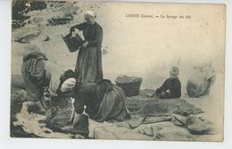 CORSE - CORTE - Le Lavage Du Blé - Corte