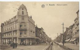 Knokke - Knocke - Avenue Lippens - Hôtel Des Dunes - Albert 14 - Phototypie A. Dohmen - 1934 - Knokke