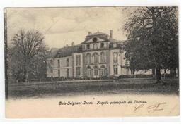Bois-Seigneur-Isaac.  Façade Principale Du Château  1904 - Eigenbrakel