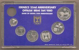 Israele - Official Mint Set 1980 - Israele